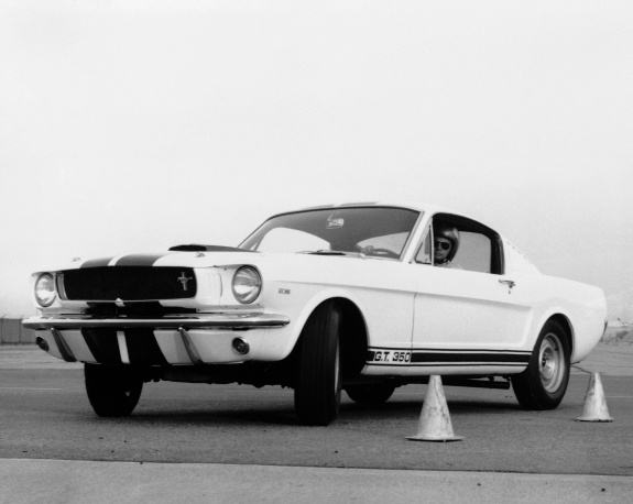 1965 Mustang Shelby GT 350. AP Photo