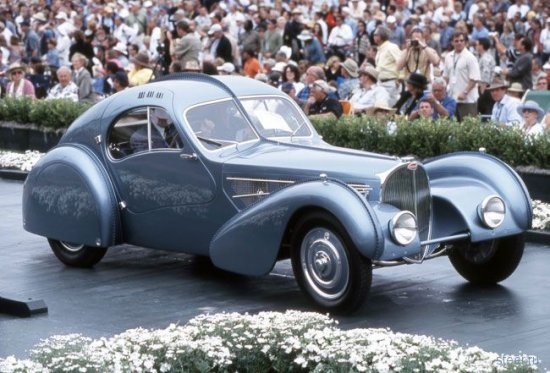 Bugatti Type 57SC Atlantic 1936 года, $38 млн