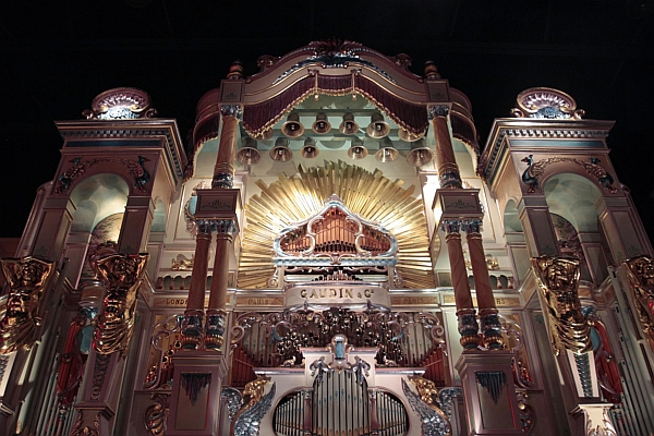 Gaudin 125-Key Dance Organ