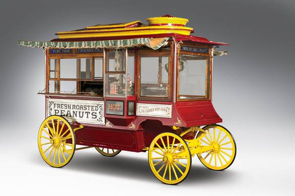 Cretors Popcorn and Peanut Wagon 1910
