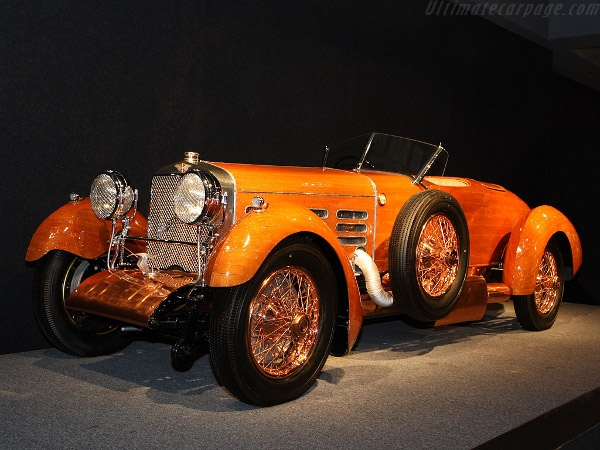 4. Торпедо Hispano Suiza H6C Tulipwood