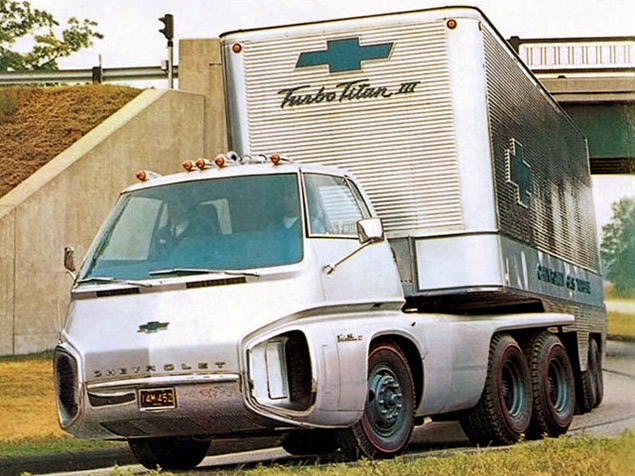 Chevrolet Turbo Titan III, 1966 год