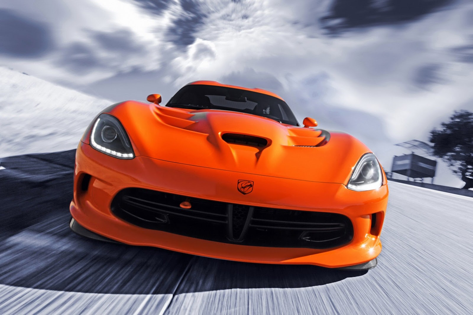 Трековый суперкар Chrysler SRT Viper TA